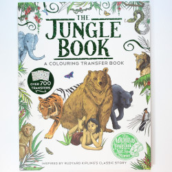 The jungle book colouring...