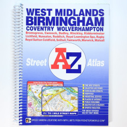 West Midlands - Street AZ...