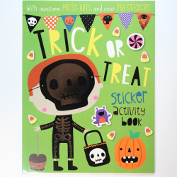 Trick or Treat Sticker Book