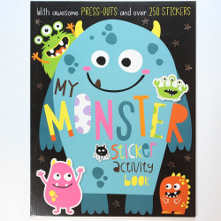 My Monster Sticker Book