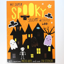 My Super Spooky Sticker Book