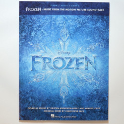Frozen Piano, Vocal and Guitar